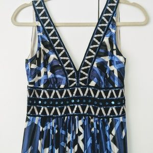 BCBGMaxAzria Dresses - BCBG MAXAZRIA Geometric Gown